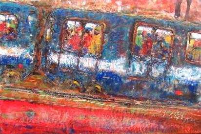 The train ride I