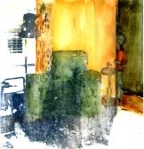 Le fauteuil - mixte sur mylar