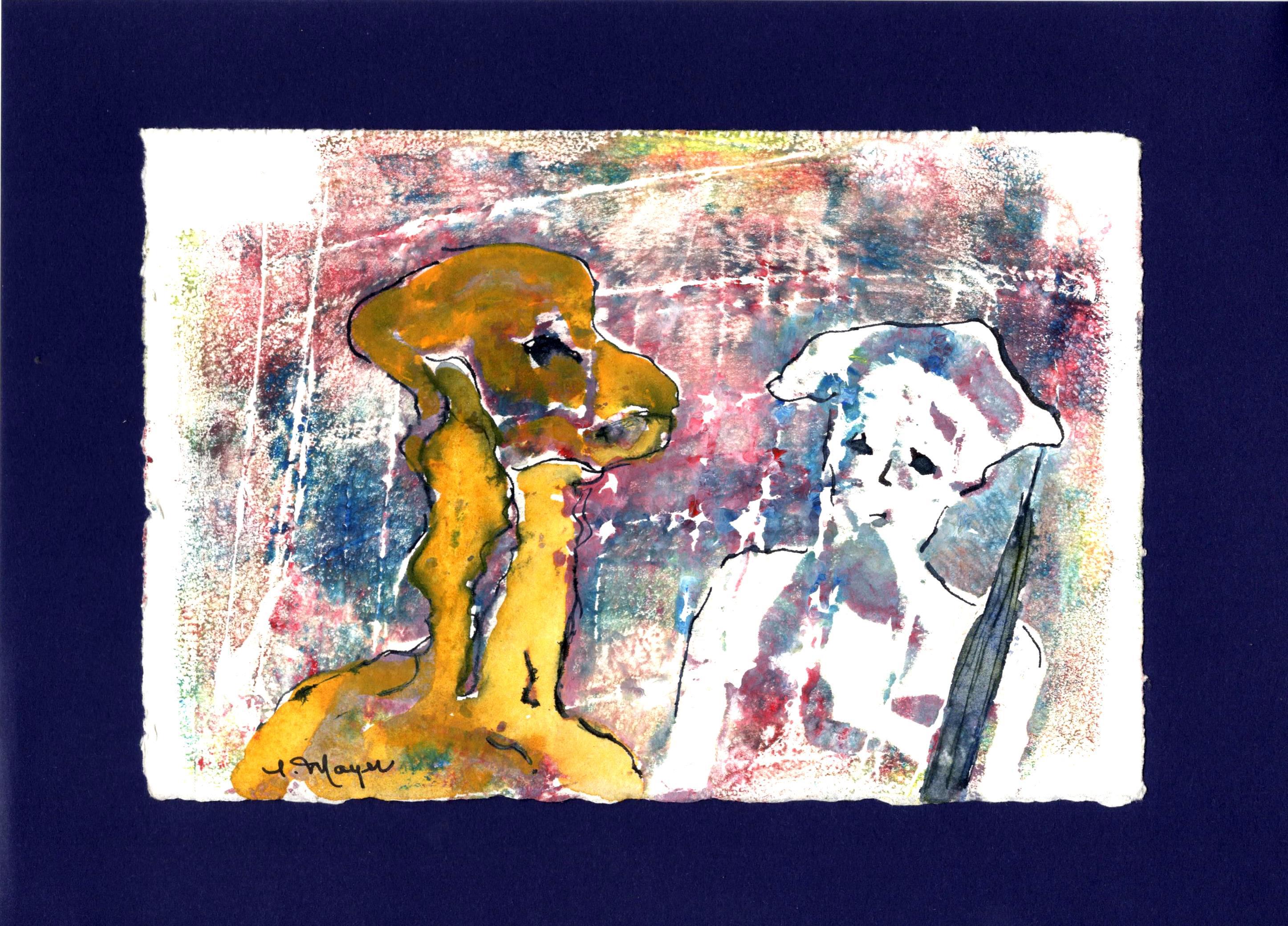 Rencontre artiste peintre
